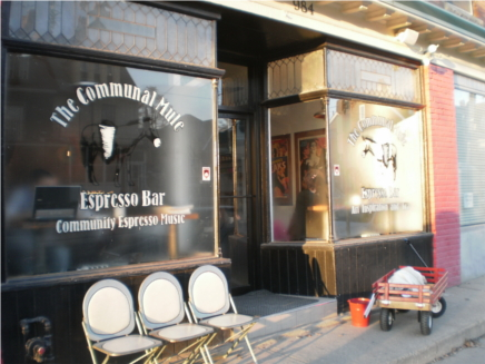 Post image for The Communal Mule-Dundas West Coffee Shop