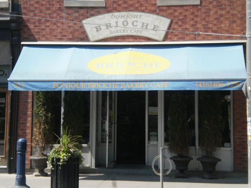 Post image for Bonjour Brioche-Queen East Coffee Shop