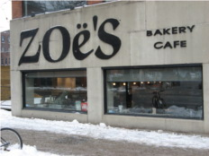Thumbnail image for Zoe's Bakery & Cafe: King Street West
